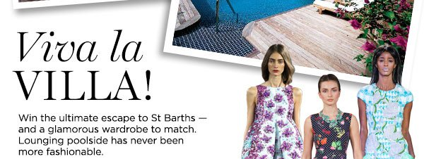 Win ultimate escape to St Barths