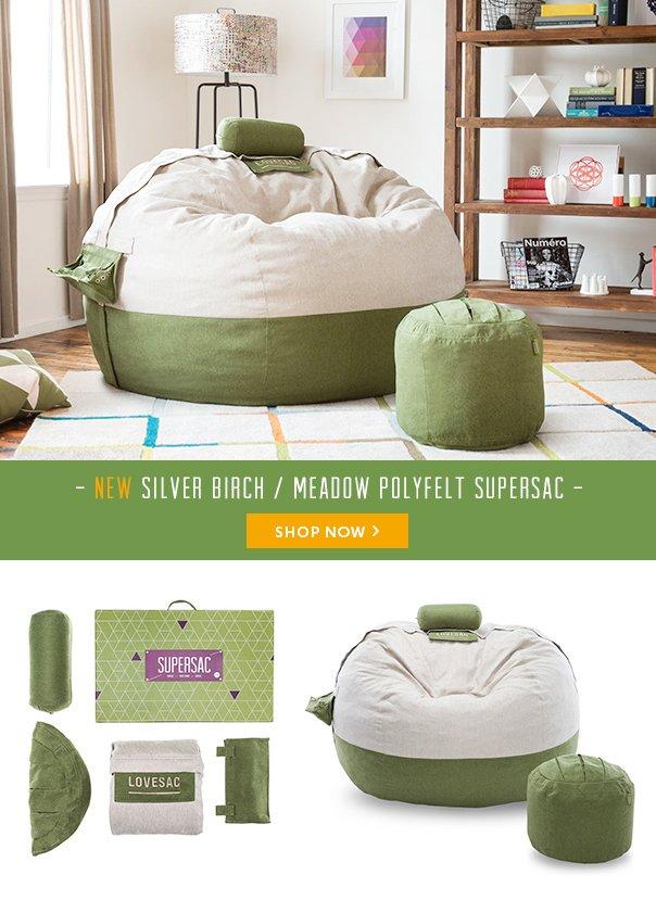 New Silver Birch / Meadow Polyfelt Supersac - Shop Now!
