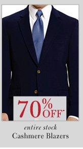 70% OFF* Cashmere Blazers