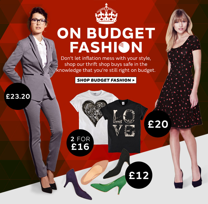 On budget fashion, all under £40
