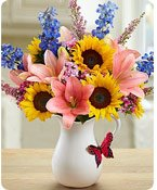 Springtime Wishes™ Same-Day Local Florist Delivery Shop Now