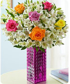 Assorted Rose & Peruvian Lily Shop Now