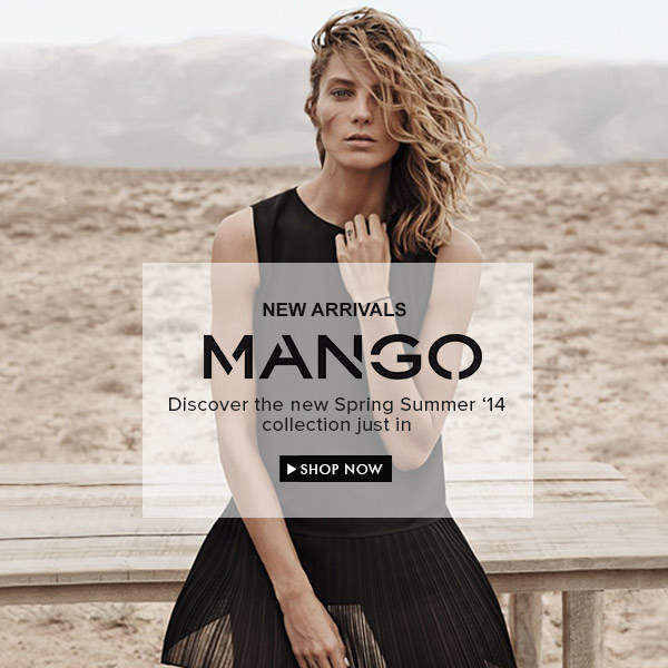 MANGO New Spring Summer '14 Collection