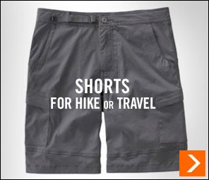 Shorts for Hike or Travel