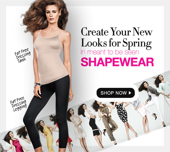 Create Your New Look for Spring in Meant to Be Seen Shapewear