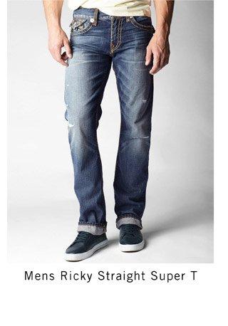 Mens Ricky Straight Super T