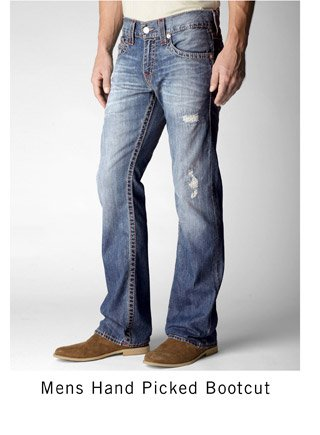Mens Hand Picked Bootcut