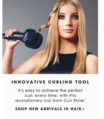 Innovative Curling Tool. It's easy to achieve the perfect curl, every time, with this revolutionary tool from Curl Styler. Shop new arrivals in hair.