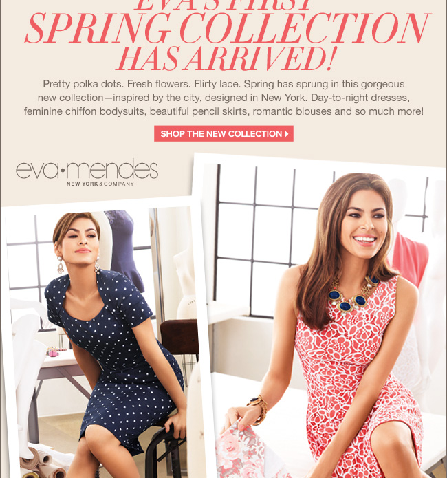 Eva's First Spring Collection Has Arrived!