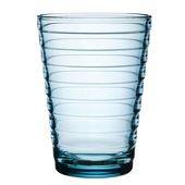 Aino Aalto Drinking Glass Light Blue