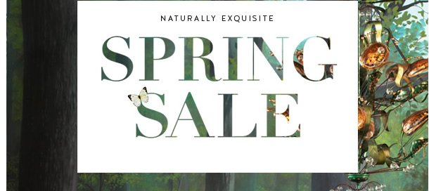 Naturally Exquisite | Spring Sale