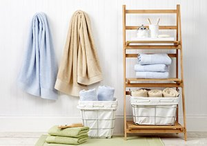 Bath Redux: Towels, Baskets & More