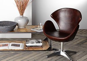 Leather & Steel: Furniture & Décor