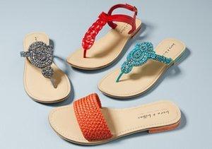 Spring Sandals: Thongs & Slides