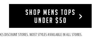 Shop Mens Tops Under $50