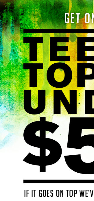 Shop Womens Tops Under $50