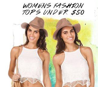 Shop Womens Fashion Tops Under $50