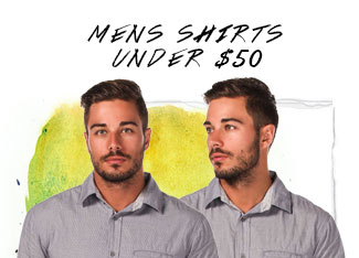 Shop Mens Shirts Under $50