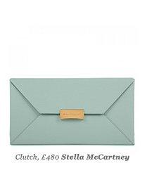 Clutch, £480 Stella McCartney