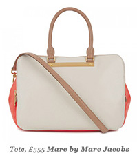 Tote, £555 Marc by Marc Jacobs