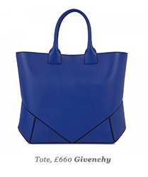 Tote, £660 Givenchy