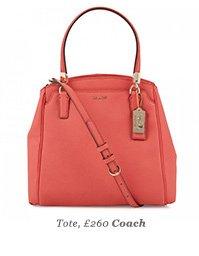 Tote, £260 Coach