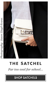 THE SATCHEL - Far too cool for school... SHOP SATCHELS