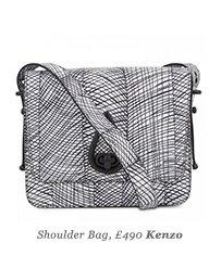 Shoulder Bag, £490 Kenzo