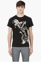 DIESEL Black T-Tiger T-Shirt for men