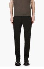 JULIUS Black Zipped Trousers for men