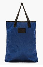MARC BY MARC JACOBS Navy Luster Tote Bag for men