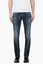 NUDIE JEANS Blue Organic TIGHT LONG JOHN Jeans for men