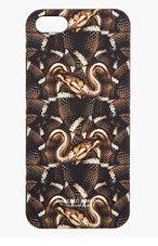 MARCELO BURLON COUNTY OF MILAN Brown Snake Print iPhone 5 Case for men
