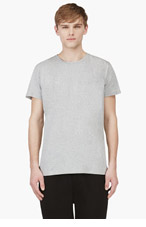 UMIT BENAN Grey Classic Fit T-Shirt for men