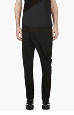 JULIUS BLACK Wrapped Drape trousers for men