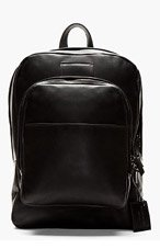 COMMON PROJECTS Black Leather Backpack for men