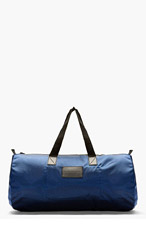 MARC BY MARC JACOBS Navy Luster Duffle Bag for men