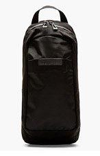 MARC BY MARC JACOBS Black Canvas Fake It Til You Make It Backpack for men