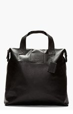 COMMON PROJECTS Black Supple Leather Tote for men