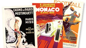 Liven Up Your Walls: Vintage Posters