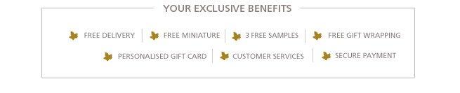 Your Exclusive Benefits