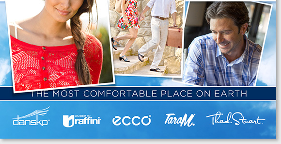 The world's leading retailer of comfort footwear. The best service, the best price, and the best selection of the world's best brands... guaranteed. Our comfort consultants are here to help you! Please give us a call at 1 800 642-9265 if you have any questions Mon-Fri: 8am - Midnight ET, Sat-Sun: 9am - 9pm ET.