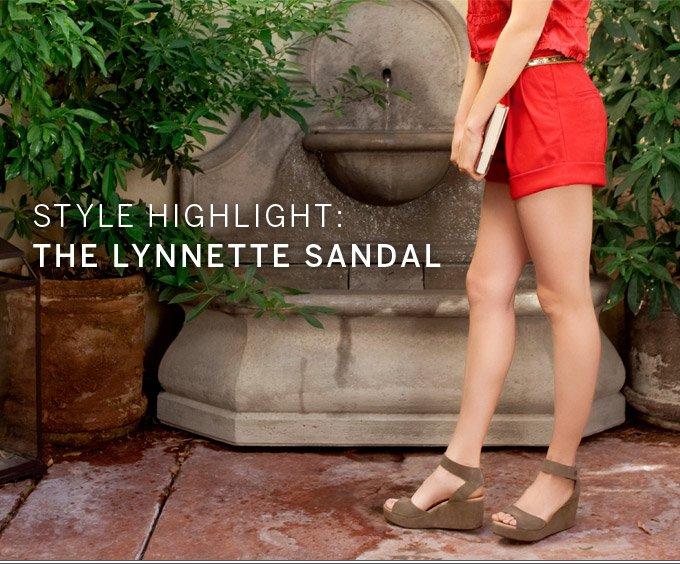 Style Highlight: The Lynnette Sandal