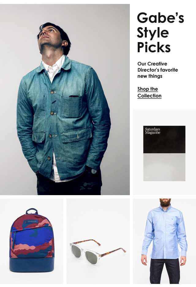Gabe's Style Picks
