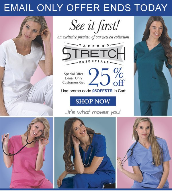All New Tafford Essentials Stretch 25% Off - Shop Now