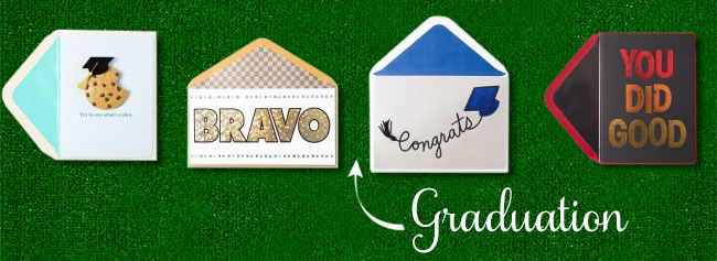 Shop Graduation greeting cards