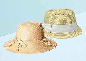 Straw Hats feat. August Accessories