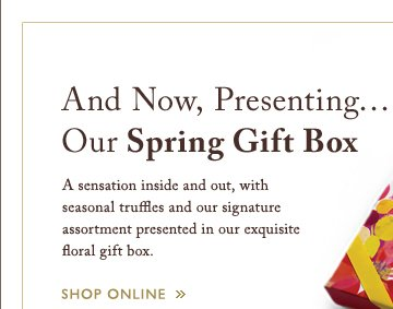 And Now, Presenting Our Spring Gift Box | SHOP ONLINE