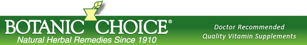 Botanic Choice - Natural Herbal Remedies Since 1910