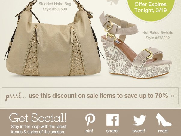 30% Off Ends Tonight - Hurry!